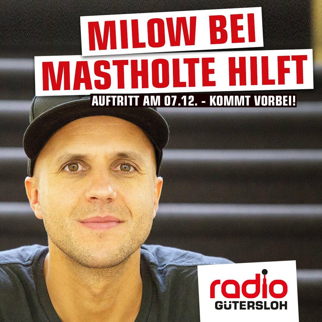 Teaser Milow Konzert Radio Gütersloh